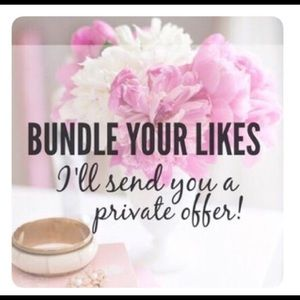 Jewelry - 💰💵Private Offers for all BUNDLES!!! 💵💰